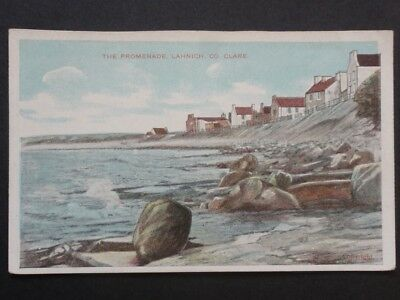 Ireland CLARE - LAHNICH The Promenade - Old Postcard