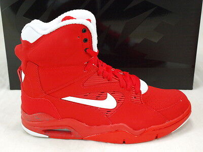 Nike Air Command Force Pump Univrsity Red Crimsont Basketball Shoes 684715-600