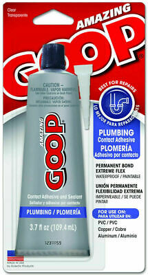Eclectic Products 150011 Amazing Plumbing Goop Glue Adhesive Sealant 3.7oz