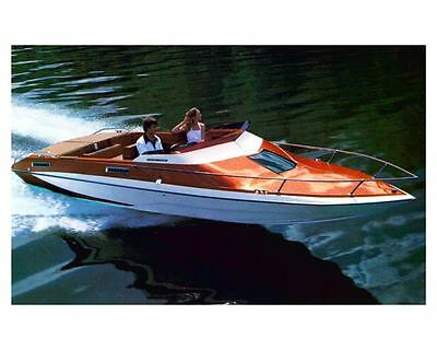 1976 Glastron Carlson CV 23 Power Boat Factory Photo ud0943