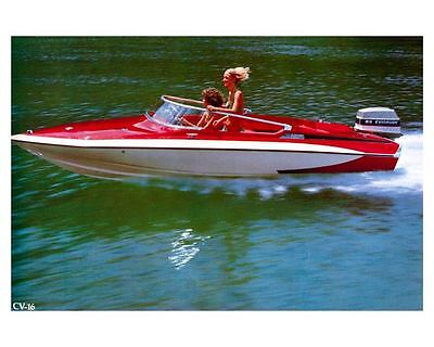 1976 Glastron Carlson CV 16 Power Boat Factory Photo ud0947