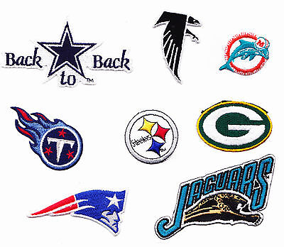 Small NFL American Football Sew On Patch USA National Football League