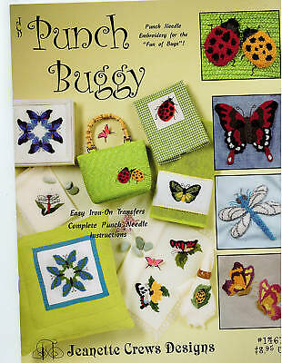 Punch Needle Embroidery: Punch Buggy - Retail $8.95 *