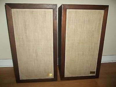 1970s Vintage Acoustic Research AR3a Stereo Speakers