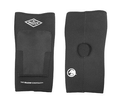 THE SHADOW CONSPIRACY SUPER SLIM BMX KNEE PADS BLACK New