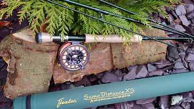NEW Flextec SUMO XS Graphite Carbon Fibre Fly Fishing Rod Rrp £269 - 9' 10'