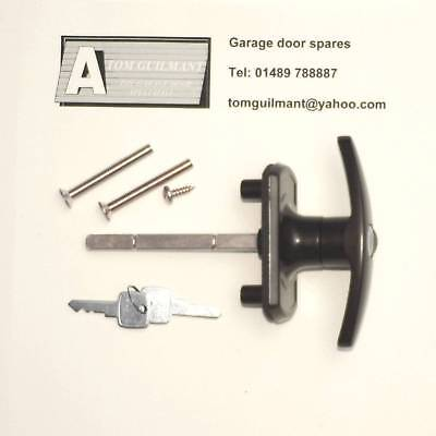 Cardale T- Bar Handle Garage Door Lock 75mm with square shaft