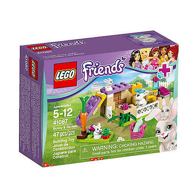 LEGO Friends Bunny & Babies Building Set 41087 NEW NIB
