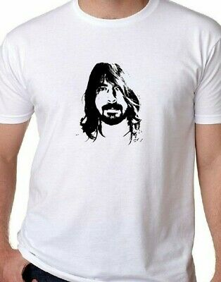 DAVE GROHL FOO FIGHTERS  2012 NIRVANA  Punk Rock T-Shirt