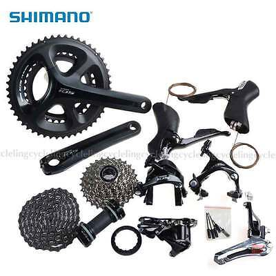 2015 SHIMANO 105 5800 Road Bike Groupset 2x11-speed 50/34T 170mm Compact Black