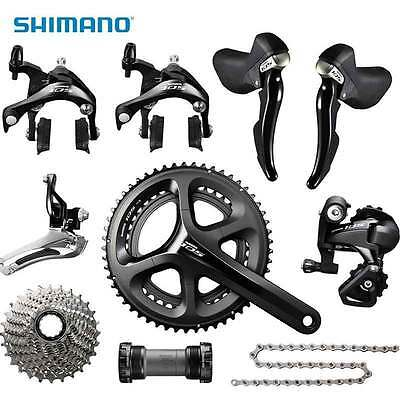 SHIMANO 105 5800 Road Bike Groupset 2x11-speed 53/39T 172.5mm Group Sets