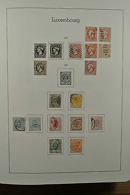 Lot 23303 Collection stamps of Luxembourg 1852-1981.
