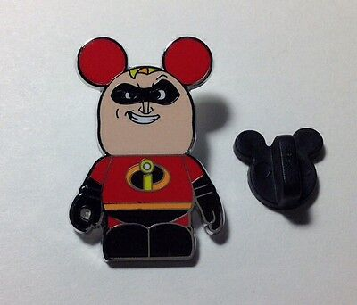 DP502 Disney Vinylmation Pin, Pixar #1, Mr. Incredible, Pinpics 95714