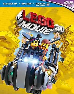 The Lego Movie (3D, Blu-Ray, includes 2D Version)