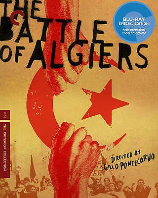 Battle of Algiers BRAND NEW & SEALED (Blu-ray Disc, Criterion Collection)