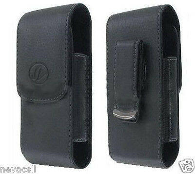 Leather Pouch Case for ATT Samsung Jack i637, Boost Mobile Transform Ultra M930