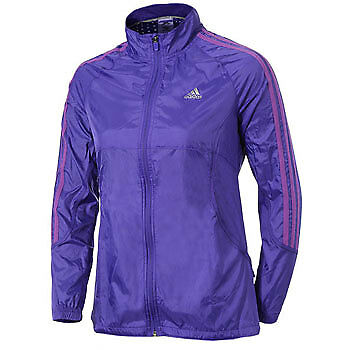 Adidas Response Ladies Wind Running Jacket - Purple