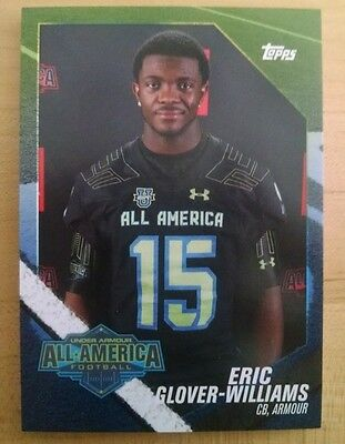 2015 Topps Under Armour All American RC Football Card ERIC GLOVER-WILLIAMS OSU