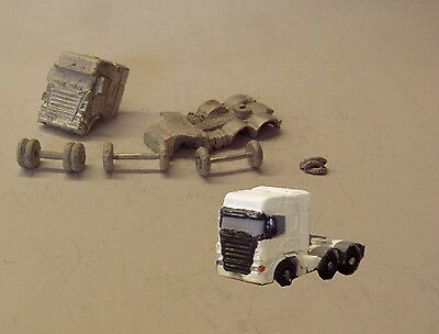 P&D Marsh N Gauge MV136 Scania Highline 2+6 artic tractor unit kit require paint