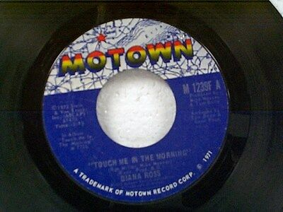 """DIANA ROSS """"TOUCH ME IN THE MORNING"""" 45"""