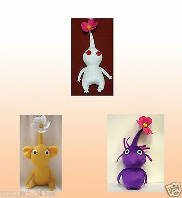 "Handmade 12"" PIKMIN Plush Doll Flower collection"