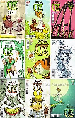 OZMA OF OZ (9) Comic SET #1 2 3 4 5 6 7 8 + Primer 1st print Wizard Oz series