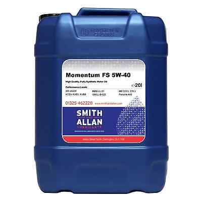 5w-40 Fully Synthetic Engine Oil ACEA A3 B4 20LT