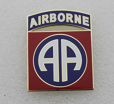 US Army 82nd Airborne Division Combat Service Identification Badge