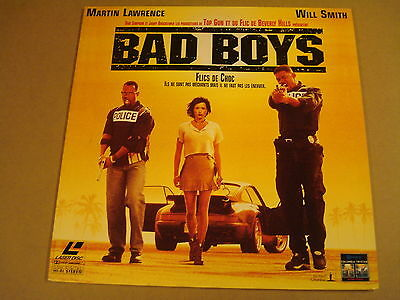Laserdisc Version Francaise / Bad Boys ( Will Smith, Martin Lawrence )
