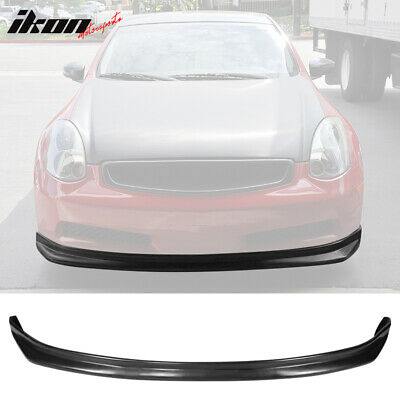 03-06 Fit For Infiniti G35 Coupe NS Style Front Bumper Lip Urethane