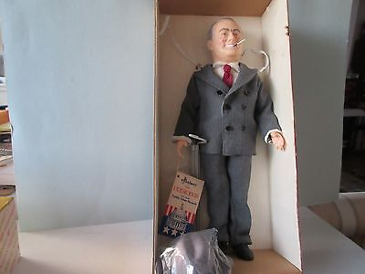 Franklin Delano Roosevelt (FDR) Effanbee Doll  - With Box - Ships Free! Stk#332