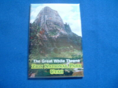 Magnet - Zion National Park, Utah - Shows The Great White Throne