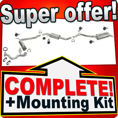 VW T4 1.9 TD 2.4 D 2.5 TDI SWB 96-03 DECAT Downpipe Silencer Exhaust System 944A