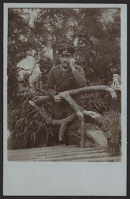 WW1 1918 TURKEY GERMANY MILITARY OFFICER W/ DARDANELLES MEDAL SOLDIER