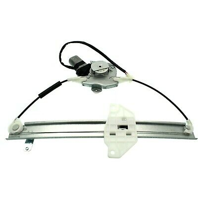 New Window Regulator Glass Rear Passenger Right Side with motor RH Hand Sedan