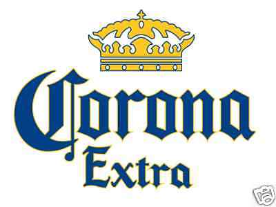 Corona Extra Vinyl Sticker Decal 14""