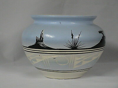 "NAVAJO POTTERY signed Jaycee-5 1/2""high, 7""dia.,"