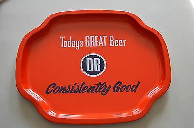 Vintage Style DB Devils Backbone Consistently Good Beer Serving Tray HTF