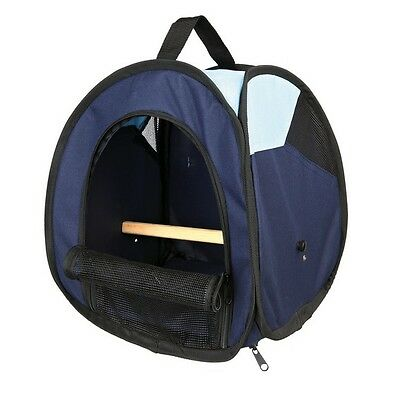 Bird Transport bag with Removable Perch & Base with Pocket & Ventilation 5906