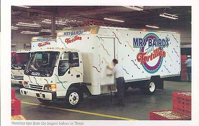 1999 Isuzu Medium Duty Truck Brochure Mr. Baird's Texas Tortillas my3333