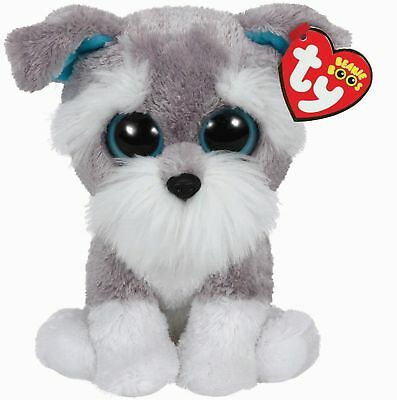 Ty Beanie Babies 36150 Boos Whiskers the Schnauzer Boo