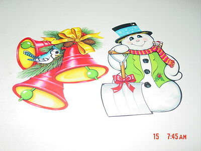 Snowflake Hanging Decoration Twirly Whirlys Beistle 20056 5 Ct