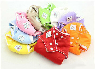 Free Shipping New Baby Diapers Reusable Washable Adjustable Nappy Newborn Cloth
