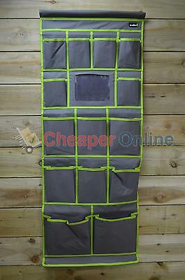 14 Pocket Camping / Tent Organiser with Velcro Fastener & Hanging Hooks