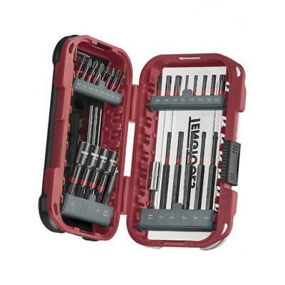 "Teng 27 Piece IMPACT Rated 1/4"" Screwdriver & Nut Drill Spinner Bit Set, TBBS127"