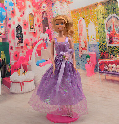 2014 Hot style Fashion Handmade princess  party Clothes dress For Noble Doll D39