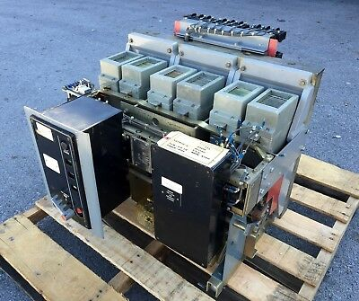 FPE Federal Pacific FP75-3000 3000 Amp Air Power Circuit Breaker FP-75 DO 3000A