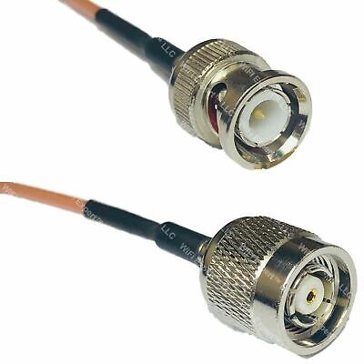 USA-CA RG316 BNC MALE to RP-TNC MALE Coaxial RF Pigtail Cable