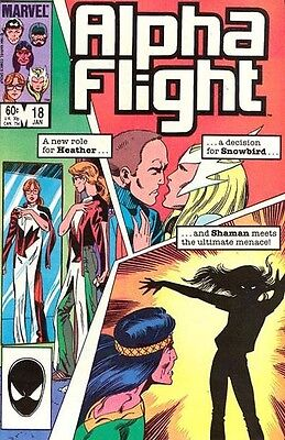 Alpha Flight Vol. 1 (1983-1994) #18