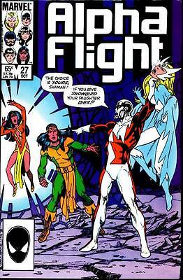 Alpha Flight Vol. 1 (1983-1994) #27